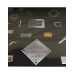 small chemically etched parts